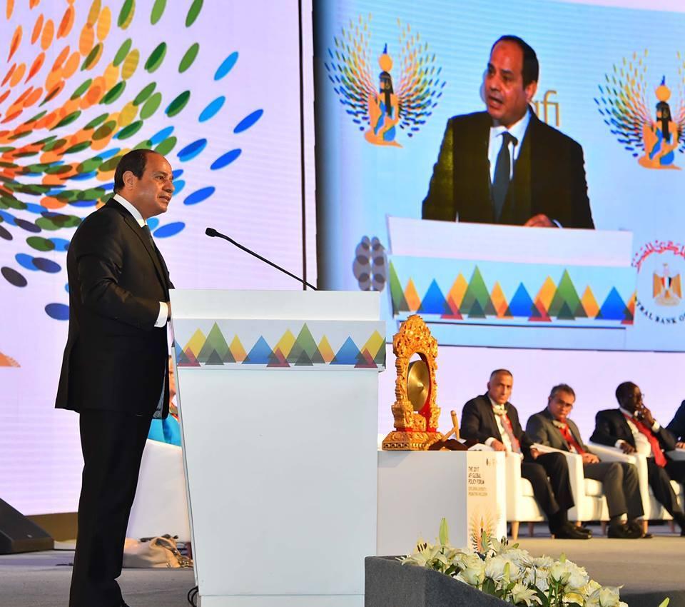 الرئيس السيسى : مسار الإصلاح الإقتصادى بدأ يؤتى ثماره