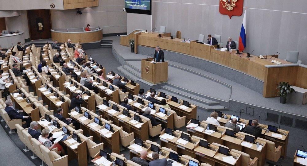 أوكرانيا تفرض عقوبات على رئيس مجلس الدوما الروسي