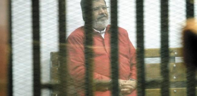 تأجيل محاكمة «مرسي» و23 آخرين لاتهامهم بالتخابر مع حماس لجلسة 3 مارس