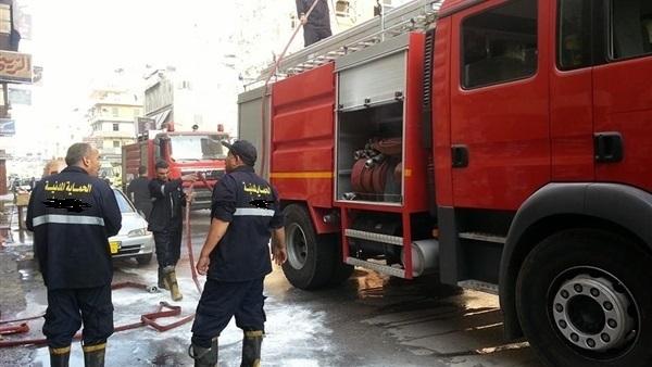 الطيران المدني : السيطرة على حريق محدود بالقرب من مطار القاهرة