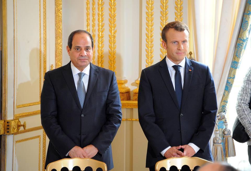 نشاط الرئيس بأسبوع : إحياء ذكرى معركة العلمين وزيارة فرنسا واستقبل رئيس وزراء العراق