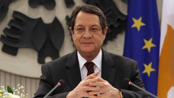 الرئيس القبرصي يناقش هاتفيا الاستعدادات لاستئناف المفاوضات بشأن قضية بلاده