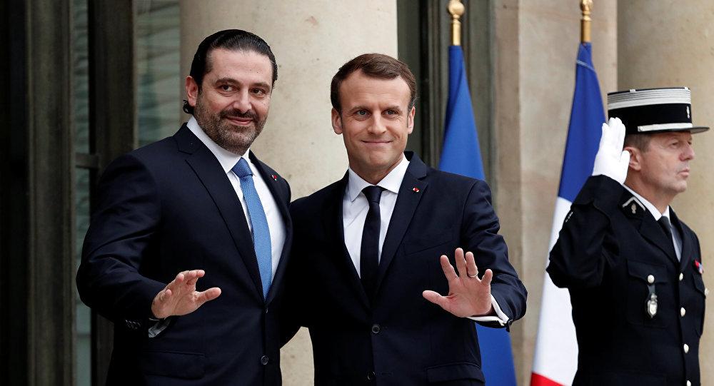الرئيس الفرنسي يرحب بعدول سعد الحريري عن الاستقالة