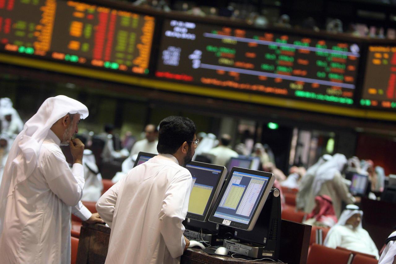 مؤشر البورصة السعودية يهبط 7% ويخسر مكتسبات عام 2018