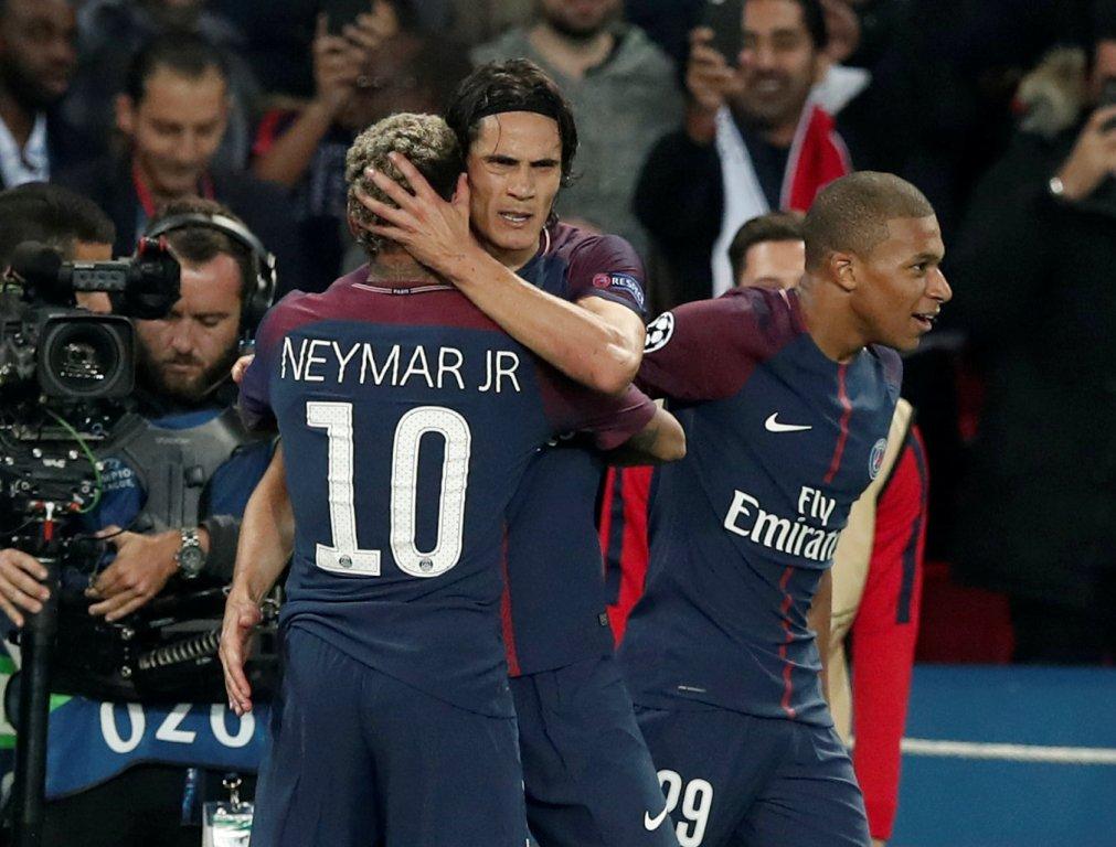 باريس سان جيرمان يسحق أولمبيك ليون بخماسية نظيفة