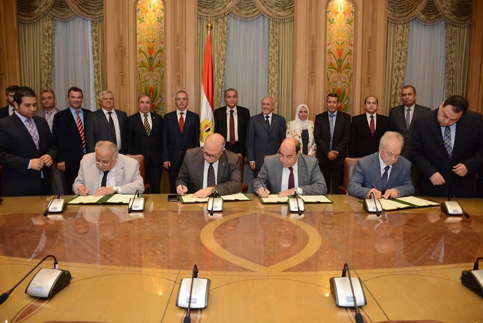 تأسيس شركة مصرية روسية لتصنيع آلات ومعدات مجمعات المطاحن والصوامع