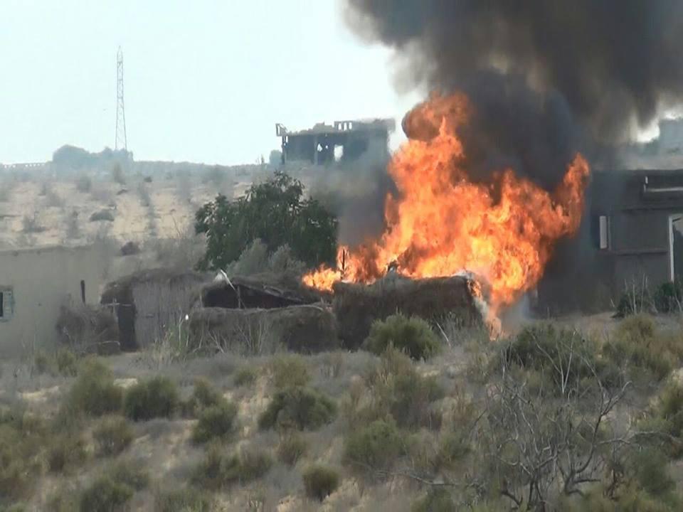 صور | المتحدث العسكرى يعلن مقتل 4 تكفيريين شديدى الخطورة بشمال سيناء
