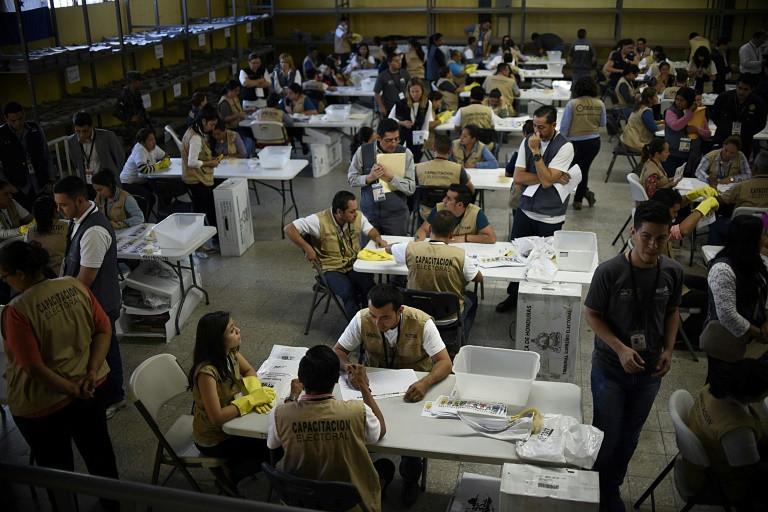 المعارضة في هندوراس تطالب رسمياً بإلغاء الانتخابات الرئاسية الأخيرة