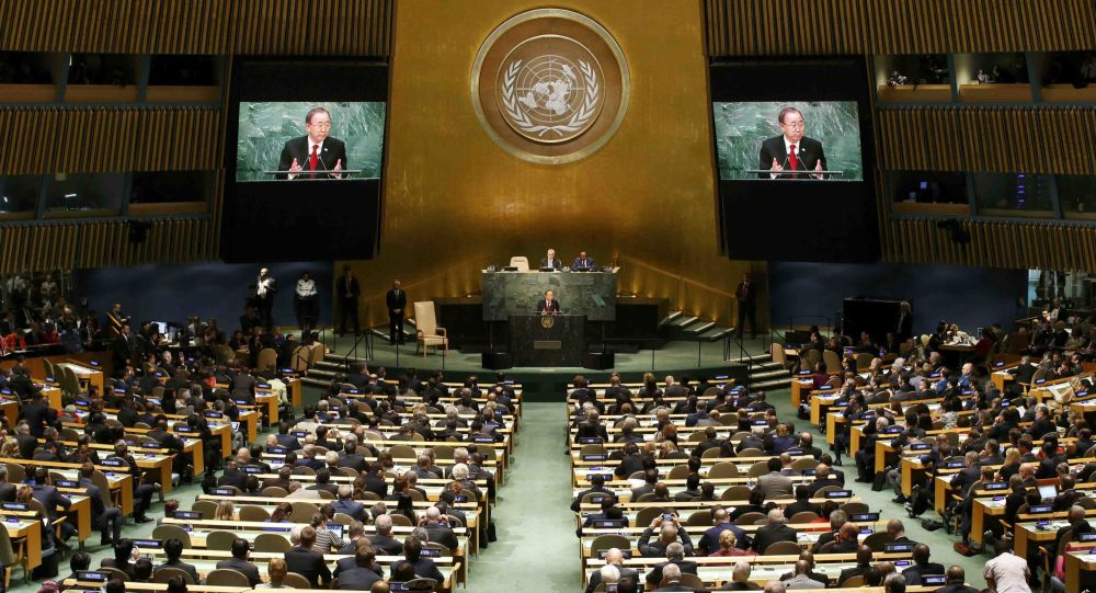 الجمعية العامة للأمم المتحدة ترفض مشروع قرار أمريكى بإدانة حماس