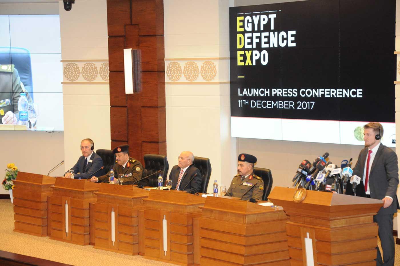صور | القوات المسلحة تعلن تنظيم معرض الصناعات العسكرية ديسمبر المقبل