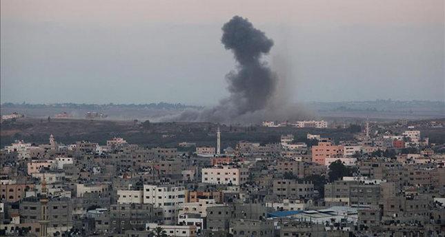 شهيدان جديدان فى القصف الإسرائيلى المستمر على غزة