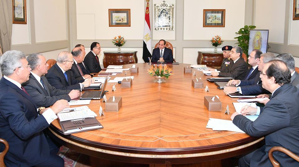 الرئيس السيسي يشدد على ضرورة  الالتزام بالقرارات الأممية والوضع القانونى للقدس