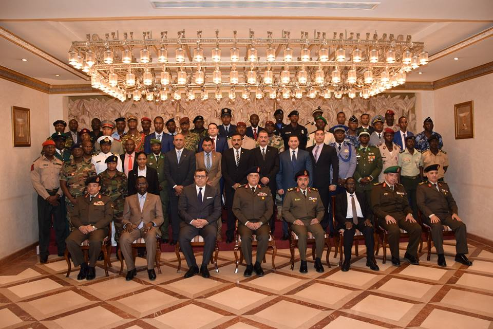 تخريج 8 دورات تدريبية من  33 دولة إفريقية بالقوات المسلحة