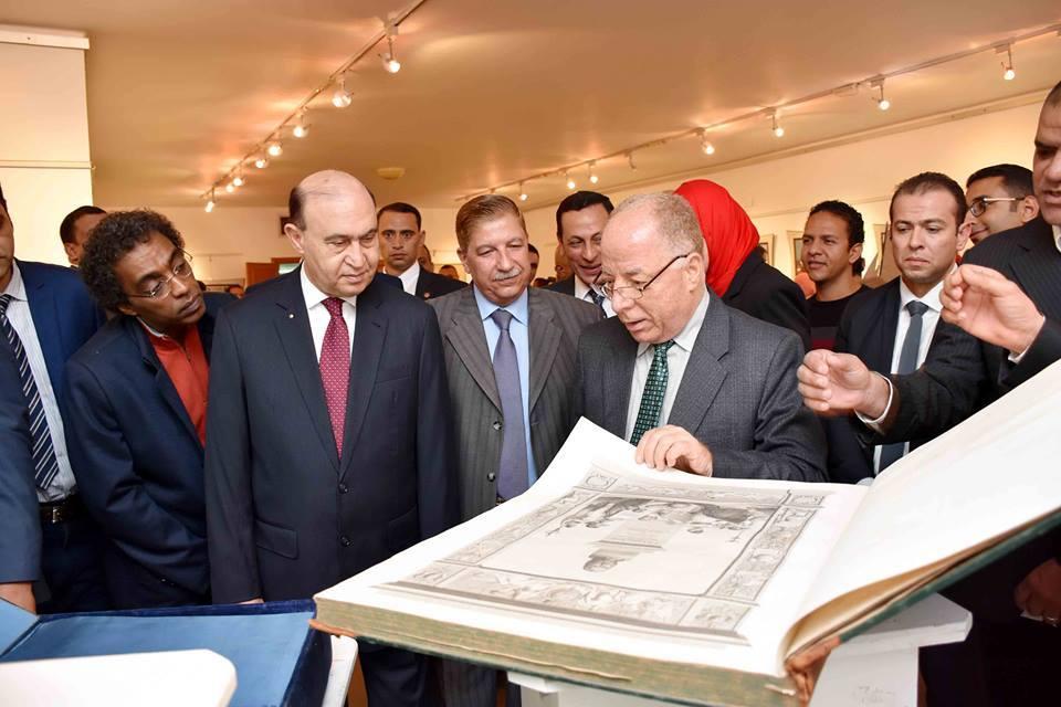 وزير الثقافة :  معرض قناة السويس يسجل ملحمة حقيقية للشعب المصري صانع الحضارة