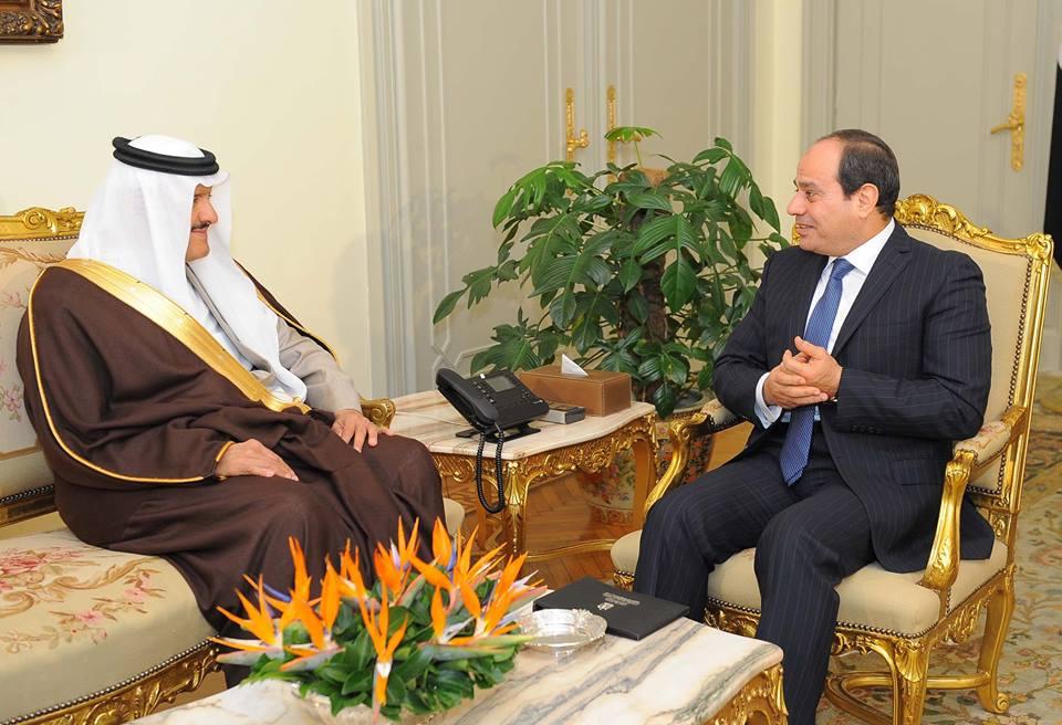 الرئيس السيسى يستقبل رئيس الهيئة العامة للسياحة والتراث الوطني بالسعودية
