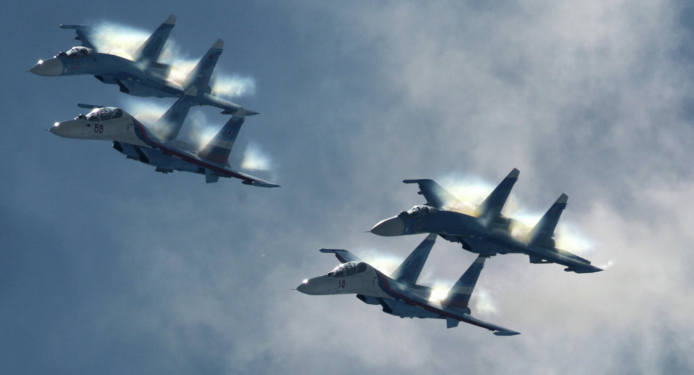 موسكو : مقاتلات روسية اعترضت طائرة أجنبية على الحدود الأسبوع الماضي