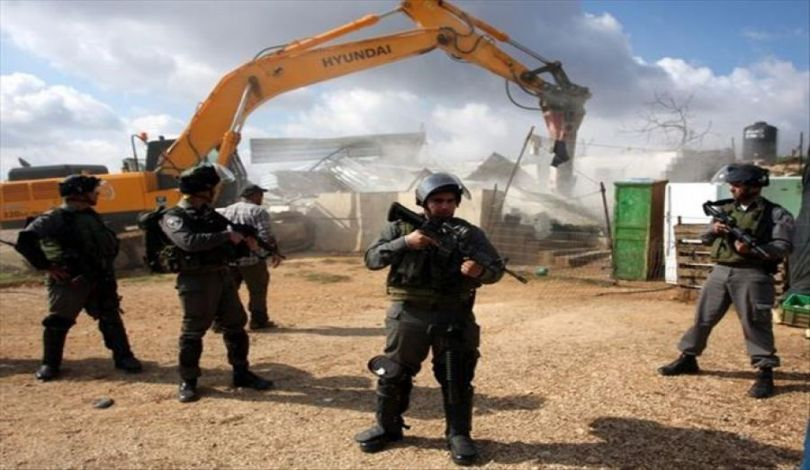 إخطارات إسرائيلية بهدم منشآت زراعية في سهل البطوف