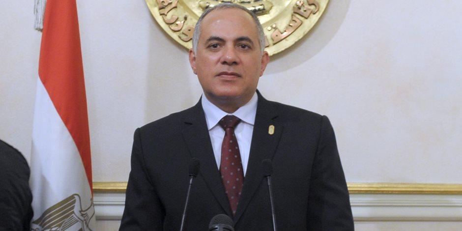 وزير الري: قطاع المياه يمثل أهمية قصوى للمصريين