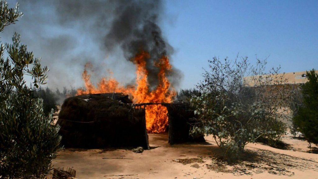 بالصور/ القضاء على تكفيريين اثنين شديدي الخطورة بشمال سيناء