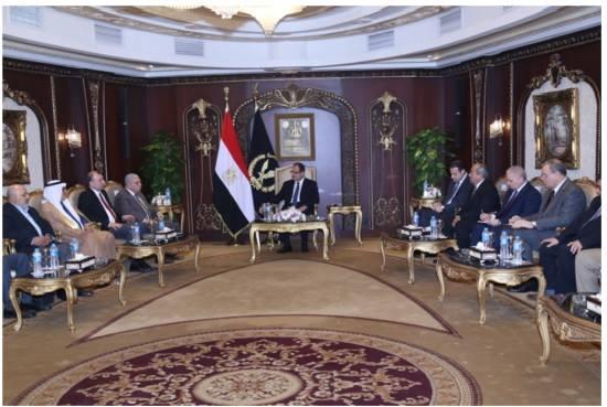 وزير الداخلية يستقبل وفد إتحاد الناشرين العرب