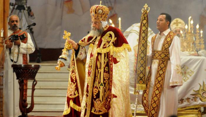 """البابا تواضروس يترأس صلوات """"جمعة ختام الصوم"""" دون حضور شعبي"""