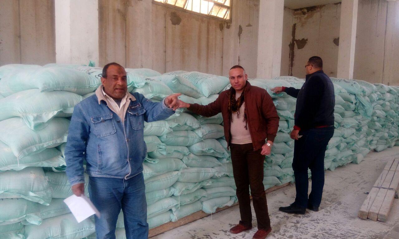 بالصور.. ضبط 21 مخالفة خلال حملة تموينية بمدينة الحمام بمطروح