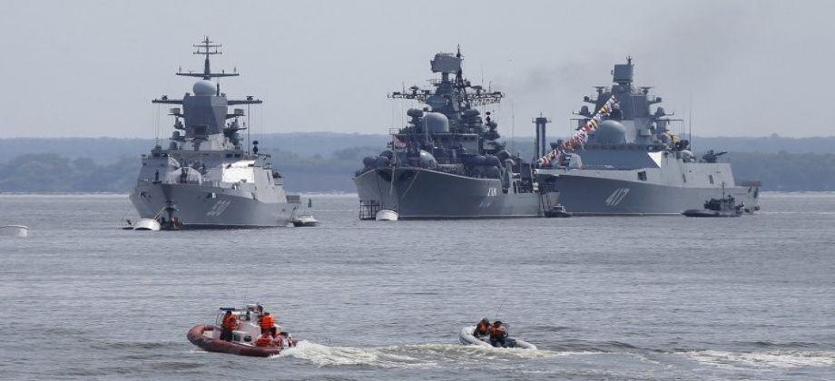 تدريبات لأسطول البحر الأسود الروسي بمشاركة عشرات السفن