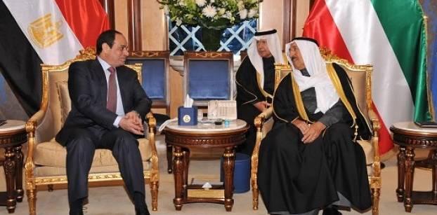 الرئيس السيسي : نقدرمواقف الكويت الداعمة لإرادة الشعب المصرى وجهوده التنموية