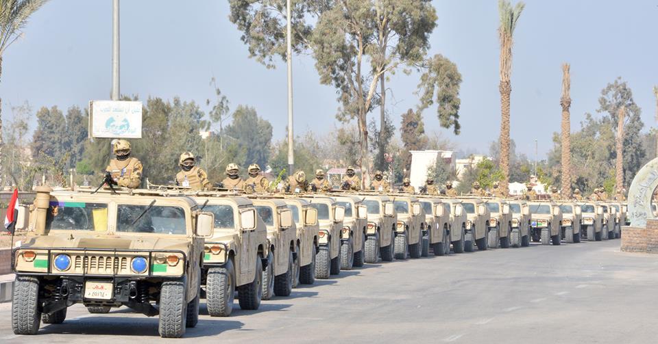 بالفيديو والصور | قوات الجيش والشرطة يواصلان تحقيق أهداف العملية سيناء 2018