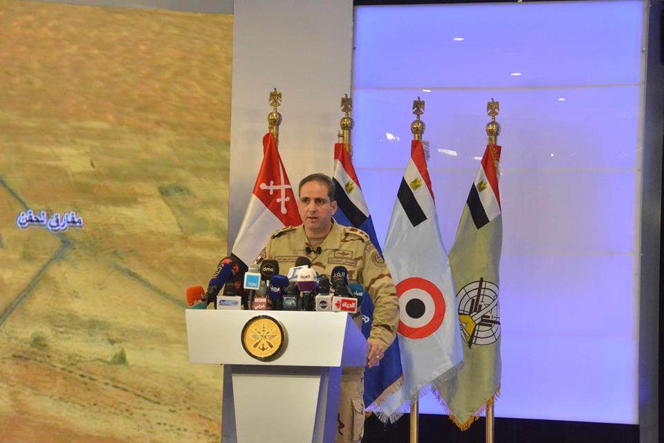 المتحدث العسكرى ينفى قيام مروحيات عسكرية برش مبيدات ضد كورونا