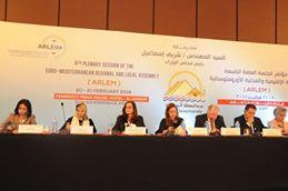 """فعاليات جلسة """"تمكين المرأة بمنطقة البحر المتوسط"""""""