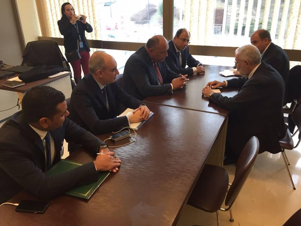 وزير الخارجية : قلقون من مساعى إمداد الجماعات المتطرفة في ليبيا بالسلاح