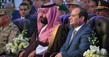 ولي العهد السعودي يبعث ببرقية شكر للسيسي