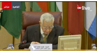 كلمة مكرم محمد أحمد فى احتفالية الجامعة العربية بيوم التراث