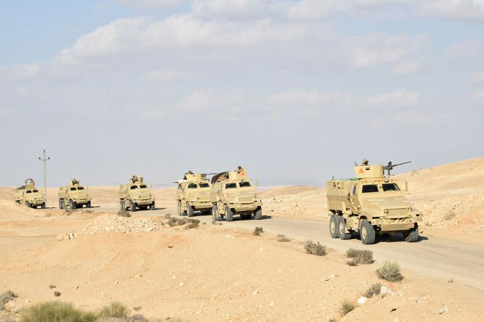 فيديو | القوات المسلحة تعلن تدمير 437 ملجأ ووكرا فى سيناء واستهداف 6 عربات مفخخة