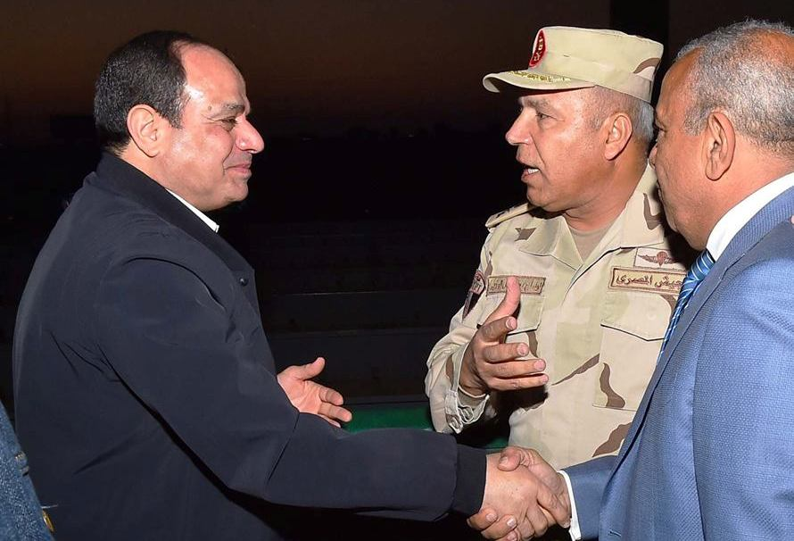 الرئيس السيسى : نتقبل تأخير المشروعات بشرق بورسعيد 4 أشهر
