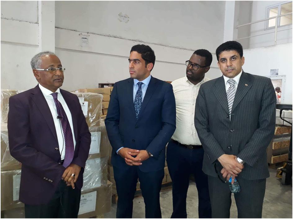 صور |  مصر تقدم مساعدات طبية إلى الصومال تبلغ 2 طن