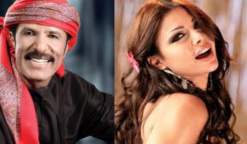 عبد الله بالخير يتمني الزواج من الفنانة هيفاء وهبي