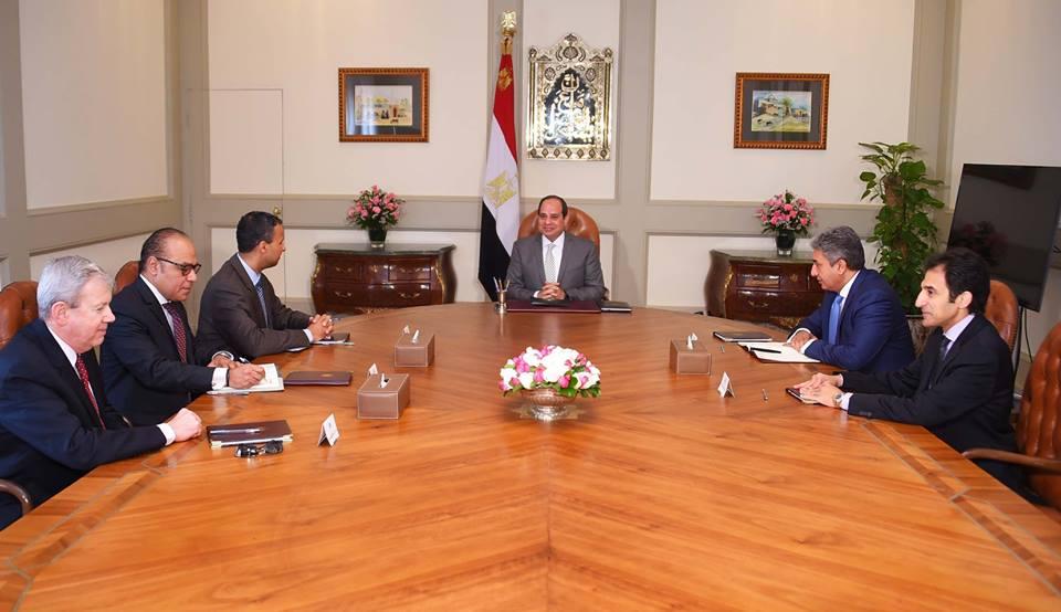 الرئيس السيسي :مستعدونلتوفير جميع الإمكانات لإقامة شركة استراتيجية مع بوينج