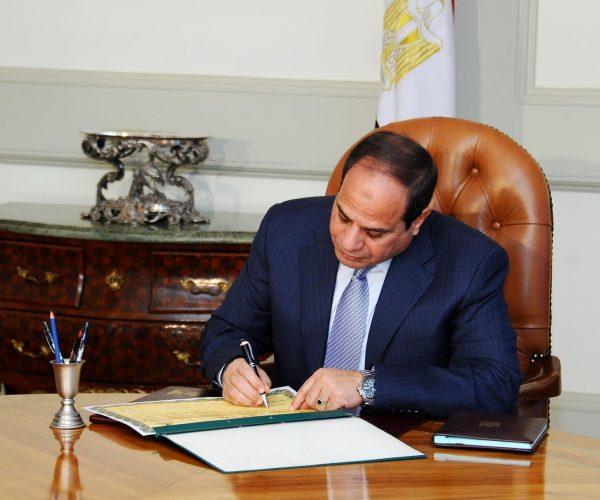 الرئيس السيسي يصدر قرار جمهوري بتعديل بعض فئات «التعريفة الجمركية»