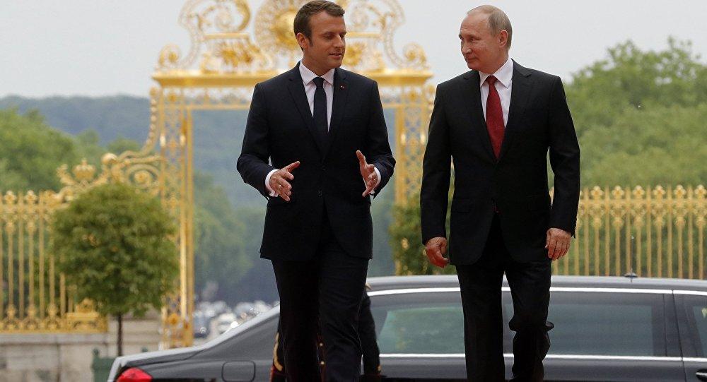 لقاء بين بوتين وماكرون لمناقشة ملفات الاتفاق النووي وسورية واوكرانيا