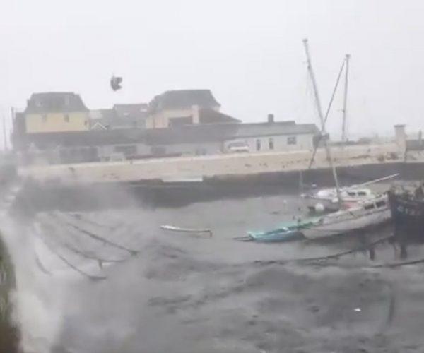إعصار برابيرو يتجه لليابان