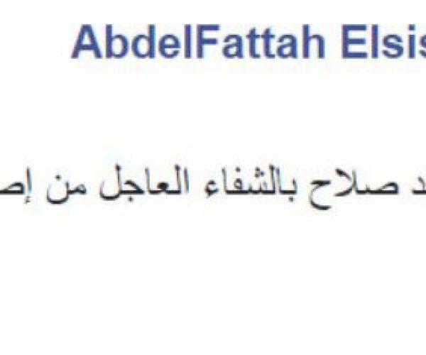 بعد إصابة محمد صلاح: تعليق السيسي على حسابه الشخصى الفيس ورسالة راموس لصلاح وأخر المستجدات 1 27/5/2018 - 2:55 م