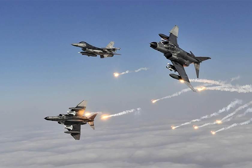 التحالف العربى يشن سلسلة غارات على أهداف ومواقع عسكرية للحوثيين بصنعاء