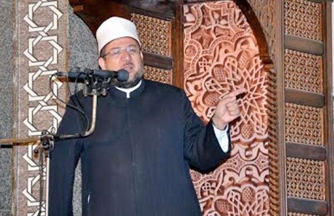 وزير الأوقاف يؤدى خطبة الجمعة اليوم فى مسجد الروضة بمدينة بئر العبد