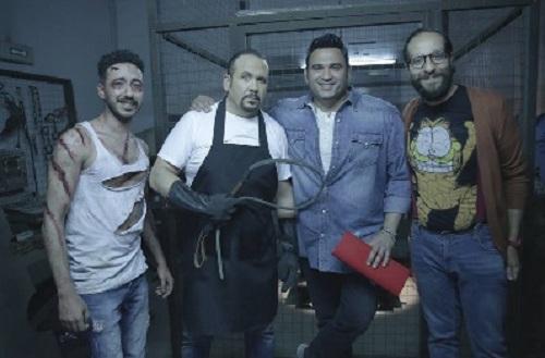 بالصور   هشام عباس في وصية أكرم حسني وأحمد أمين على CBC