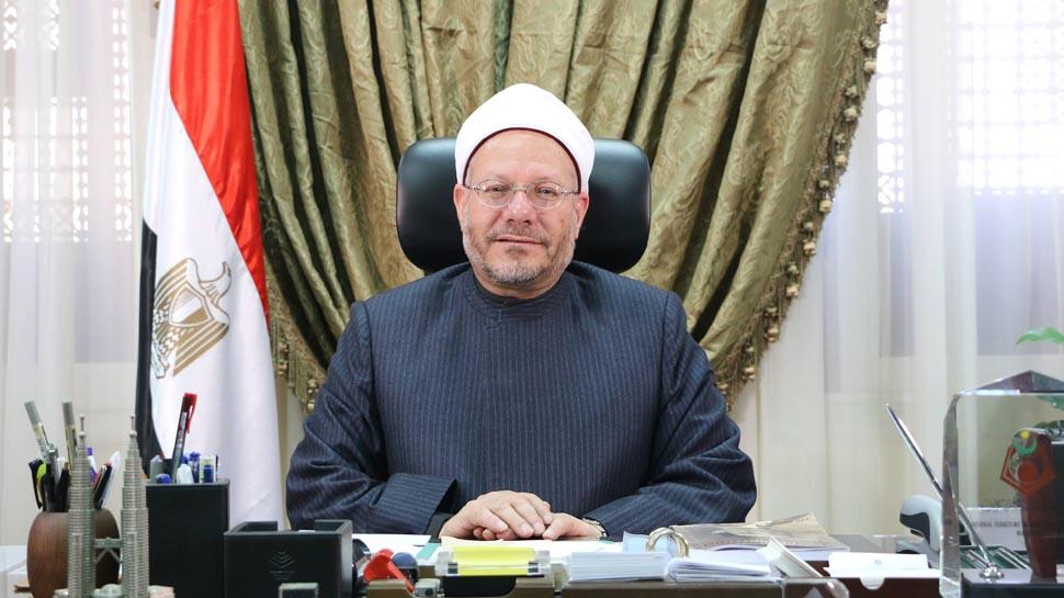 مفتي الجمهورية يهنئ الرئيس السيسي والشعب المصري بقدوم شهر رمضان