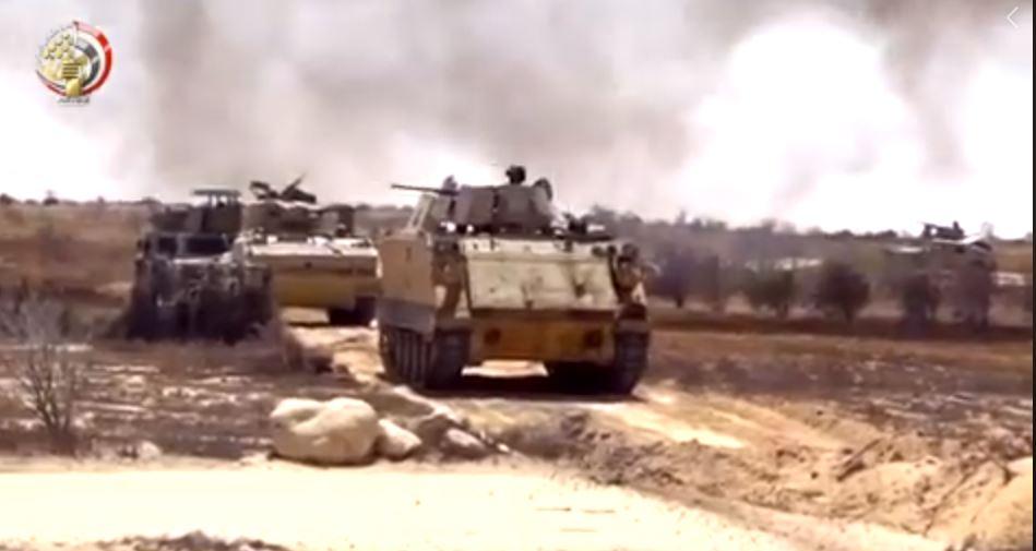 مقتل 12 إرهابيا خلال مداهمات لقوات الأمن في شمال سيناء