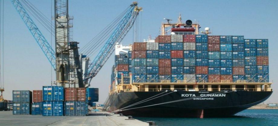 تداول 23 سفينة حاويات وبضائع عامة بموانئ بورسعيد اليوم