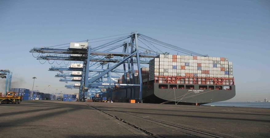 ميناء دمياط يستقبل 8 سفن حاويات وبضائع عامة خلال 24 ساعة